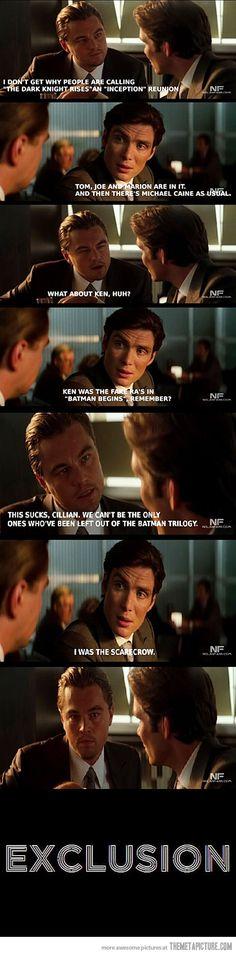 awesome funny Leo Dicaprio Batman meme