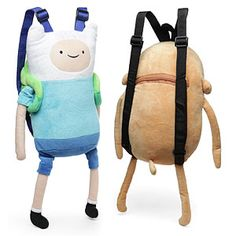 Adventure Time Plush Backpacks
