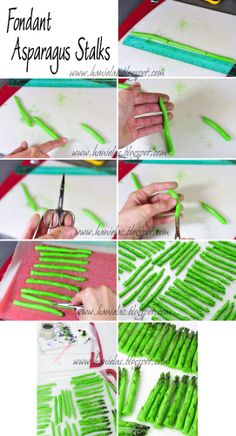 Haniela's: ~Asparagus Cake - Detailed Tutorial~