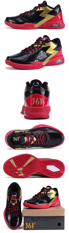 Marbury 3.0   Black/Red   Mid-cut   Features: NFO - Magnetic Levitation Technology; UnTurn - Ankle sprain prevention Technology; Tri-Grip - Enhanced traction.