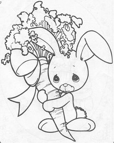 Coloring festival: Precious moments easter coloring pages Easter Coloring Pages, Coloring Pages To Print, Coloring Book Pages, Printable Coloring Pages, Coloring Pages For Kids, Coloring Sheets, Precious Moments Coloring Pages, Clip Art Library, Copics