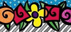 The Official web site for Pop Artist Romero Britto, view the latest events and artwork commissions of paintings and sculpture reflecting a modern pop art theme combined with the influences of early modern masters… Paris Kunst, Paris Art, Graffiti Painting, Graffiti Art, Arte Pop, Pop Art Drawing, Art Drawings, Modern Pop Art, Contemporary Art