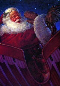 'A Night Before Christmas'. Illustration by Scott Gustafson