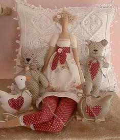 Muñeca Tilda con Osos