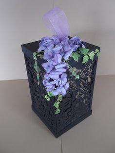 Summerhouse Crafts: Lantern Instructions Flower Making, Lanterns, Projects To Try, Decorative Boxes, Card Making, Box Bag, Flowers, Gifts, Handmade