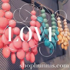 Pretty pastel necklaces are back in stock. Check out the latest spring trends & fun motivational quotes on Pinterest.