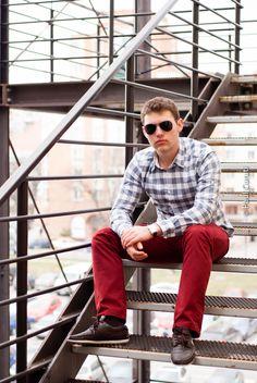 male model, urban fashion