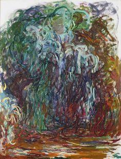 Claude Monet (1840-1926, France)   Salice Piangente, 1921-22 (Paris, Musée Marmottan)