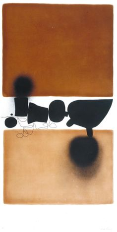 "thunderstruck9: "" Victor Pasmore (British, 1908-1998), Abstract, 1972. Aquatint and etching on paper, 198.1 x 91.4 cm. """