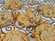 Chocolate Chip Oatmeal Cookies with Dried Apricots