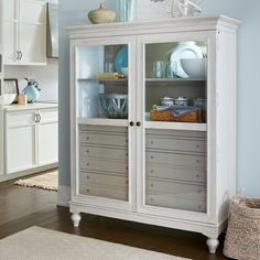 Paula Deen Dogwood The Bag Lady China Cabinet | from hayneedle.com