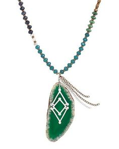 Santa Marta Necklace, Necklaces - Silpada Designs   N3251  $139  (.925 sterling silver with agate, howlite, lapis, quartzite, and brass)  Order @ mysilpada.com/laurie.woods