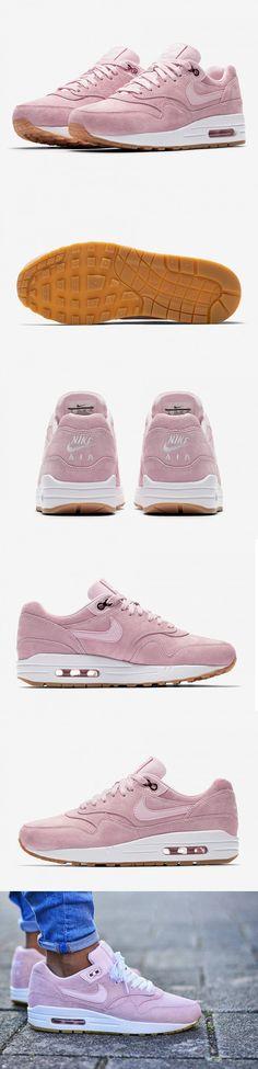 #NIKE #WMNS #AIR #MAX 1 #PINK #SUEDE http://store.nike.com/fr/fr_fr/pd/chaussure-air-max-1-sd-pour/pid-11644556/pgid-11841064?cp=EUNS_AFF_WG_FR_121157