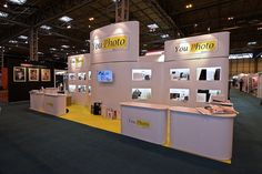 Modular Exhibition Prestige stand for YouPhoto at the Photography Show 2015 by Quadrant2Design