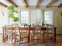 Country Home Decor For Dining Room