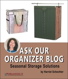 It's never too late to get organized. If you are just getting out your shorts and tanks, now is the time to store away those sweaters and out-of-season clothes. Read Harriet Schechter's latest post with seasonal storage solutions.