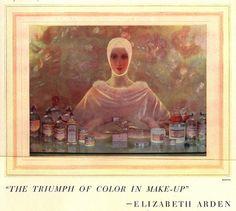 Adolf De Meyer (1868-1946) Advertisement for Elizabeth Arden Cosmetics by Art & Vintage, via Flickr
