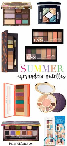 Best Summer Eyeshadow Palettes
