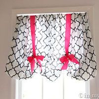 This is the easiest no sew window treatment - EVER. No sew and up in minutes and you may not have to buy a thing   In My Own Style