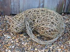 My Gallery of Willow Sculpture and other basketry work. Outdoor Sculpture, Modern Sculpture, Sculpture Art, Garden Sculpture, Outdoor Art, Tatton Park Flower Show, Toothpick Sculpture, Willow Weaving, Basket Weaving