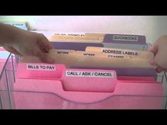 How to Organize Papers on Your Desk  from http://www.alejandra.tv