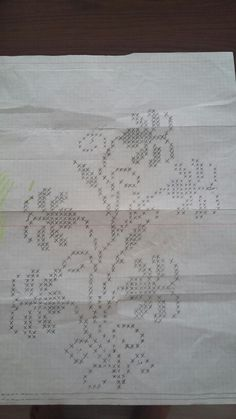 Filet Crochet, Crochet Doilies, Crewel Embroidery, Knitting Charts, Weaving Patterns, Bargello, Cross Stitch Patterns, Diy And Crafts, Projects To Try