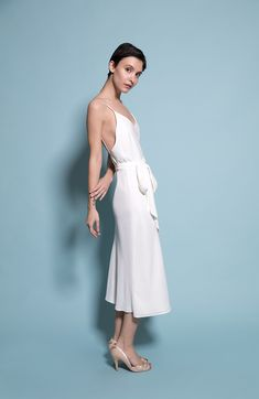 Our Oslo dress now available in Ivory! Ivory Bridesmaid Dresses, Party Guests, Mix N Match, Oslo, Contemporary, Modern, White Dress, Fashion, Moda