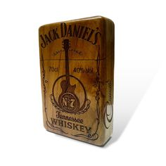 Jack Daniel's Java Teak wood Cigarette Case by Maliojava on Etsy