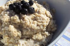 Wake up to a healthy low fat breakfast. Overnight Oats - Crockpot