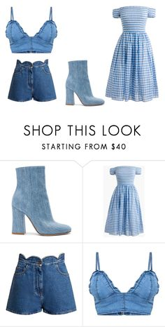 """""""Untitled #169"""" by mihaelamarula ❤ liked on Polyvore featuring Gianvito Rossi, J.Crew and Valentino"""