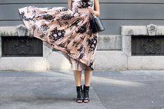 fashion blogger Irene Colzi from Irene's Closet in REDValentino SpringSummer15 PreCollection