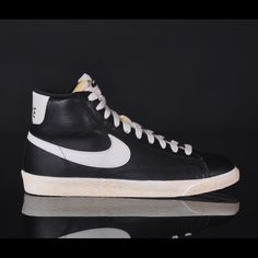 online store b50b4 04fcf Nike Leather Blazers Nike Leather Blazers in perfect condition. Bought from  J.Crew.