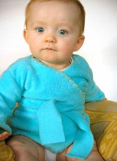 Baby Kimono tutorial                                                                                                                                                                    @Melissa Esplin.com