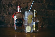 Opihr Spiced Gin, with fresh ginger & Fever Tree Indian Tonic