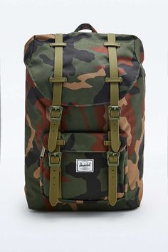 Herschel Supply co. - Sac à dos Little America vert camouflage - Urban Outfitters