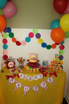 The Ehlerts: Abby's Play doh Birthday Party...