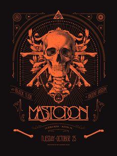 GigPosters.com - Mastodon - Black Tusk - Ancient Vvisdom