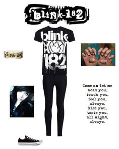 """""""The Band Tag"""" by caught-in-a-dream-xo ❤ liked on Polyvore featuring Rodarte, Converse, women's clothing, women, female, woman, misses and juniors"""