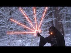 Star Wars: Modern Lightsaber Battle - YouTube. So Funny!
