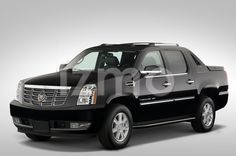 Front view of black 2007 Cadillac Escalade EXT SUT