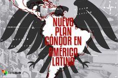 ¿Por qué hay un nuevo Plan Cóndor en Latinoamérica?¿Cuál es la agenda? Desde la llegada de los Gobiernos progresistas a Latinoamérica, la región se ha convertido en el blanco de una plan golpista n…
