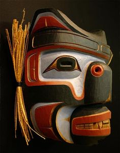 Indian Mask from British Columbia