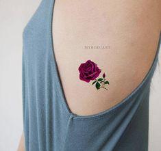 Tatuaje Rosas Rojas Tattoo Madrid Art Tattoo