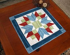Handmade with love ... by MulberryPatchQuilts on Etsy Quilted Table Runners, Table Toppers, Farm House, Handmade Items, Etsy Shop, Artists, Quilts, Country, Rugs