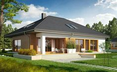 Modern beach house design in the philippines — nice basket ideas Simple Bungalow House Designs, Modern Bungalow House Plans, Bungalow Haus Design, Bungalow Homes, Modern Farmhouse Plans, Modern House Design, Home Design, Design Ideas, Interior Design