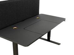 Bilderesultat for Siglo work desk black