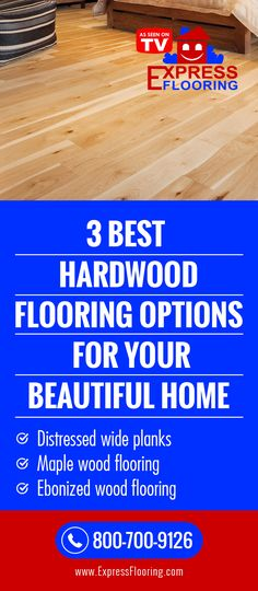 3 Best Hardwood Flooring Options for Your Beautiful Home | Express Flooring
