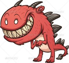 Find Smiling Cartoon Monster Vector Clip Art stock images in HD and millions of other royalty-free stock photos, illustrations and vectors in the Shutterstock collection. Funny Monsters, Cartoon Monsters, Little Monsters, Monster Vector, Monster Clipart, Monster Illustration, Illustration Art, Monster Co, Simple Character
