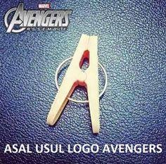 Asal usul logo Avengers - #Meme - http://www.indomeme.com/meme/asal-usul-logo-avengers/