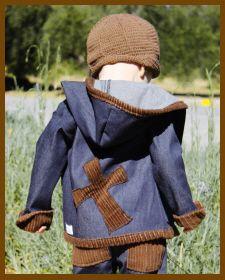 Christian Clothing | Faith Baby | Faith Baby 'Withered Cross' Denim Jacket  FaithBaby.com